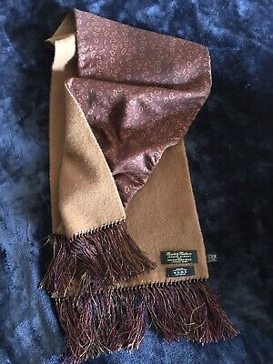 Gorgious Silk & Cashmere Scarf By Harvie & Hudson