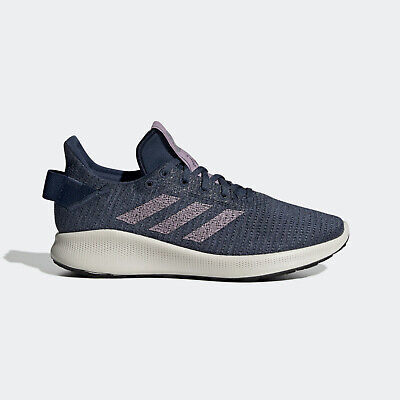 Adidas Sensebounce + Street W [F36921] Womens Running Shoes Navy/Soft Vision