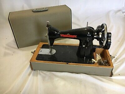 RARE Collectible Trident  Crank Sewing Machine Antique Vintage Sewing