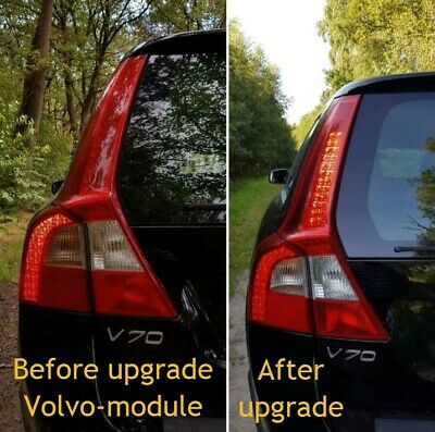 Volvo V70 / XC70 taillight taillights upgrade module