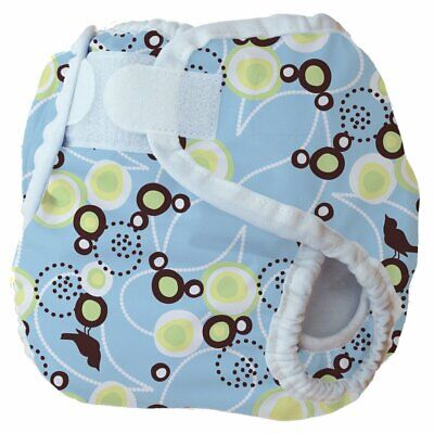 Thirsties Diaper Cover, Baby Bird, Blue, Small (12-18 lbs) size Small NWT
