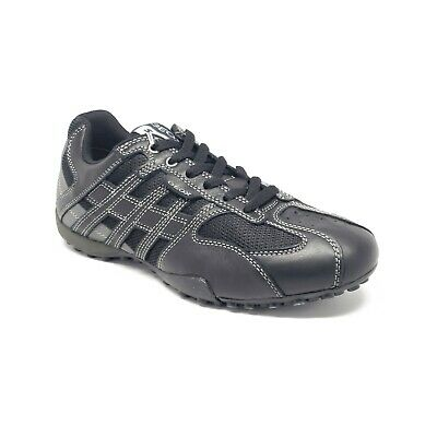 Men's Black Uomo Snake A Low top Trainers