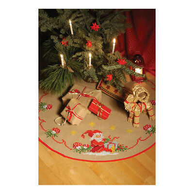 ANCHOR | Embroidery Kit: Santa and Gifts -  Tree Carpet | 92400004536