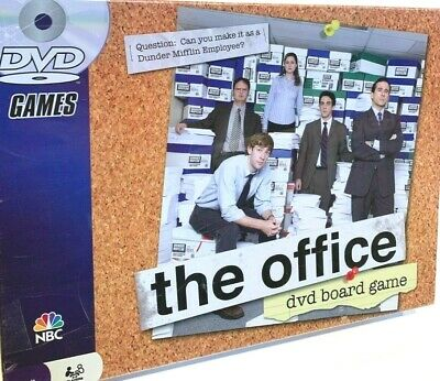 The Office DVD Trivia Board Game Pressman 2008 Brand New FREE SHIPPING