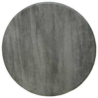 New Modern Table Top Cafe Antiscratch UV Isotop Dining Outdoor 70cm Round Cement