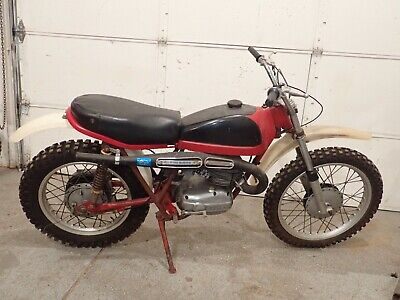 Bultaco Matador Mk3 Model 26 Matching Numbers Clip-On Oem Lever Case Wheels Tank