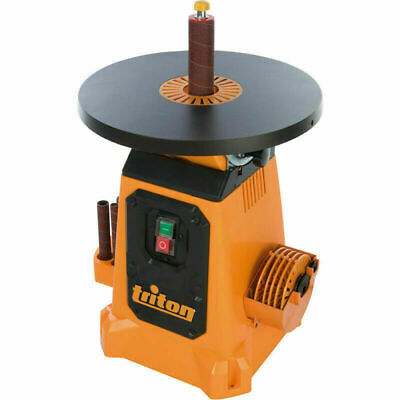 BRAND NEW BOXED Triton 350W Oscillating Tilting Table Spindle Sander 380mm +ACC