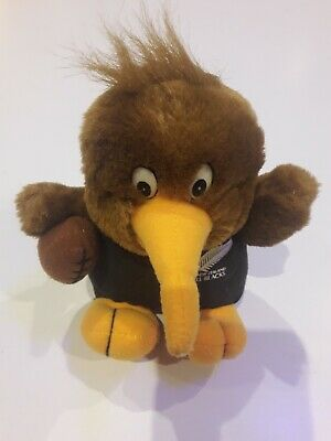 Doudou Mascotte All Blacks Kiwi