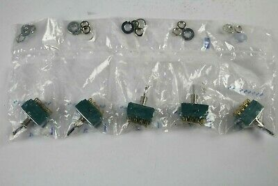 Alco Switch MTA 406N Toggle (Lot of 5)