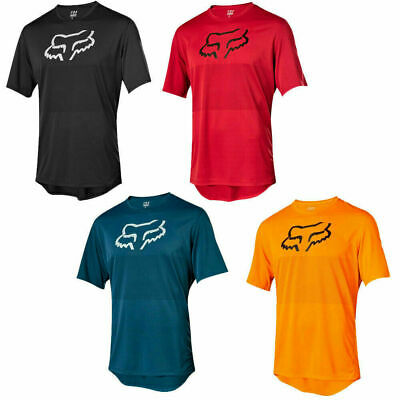 Hot Fox race Riding Jersey T-shirts Men Motocross//MX//ATV//BMX//MTB Dirt Bike 2019