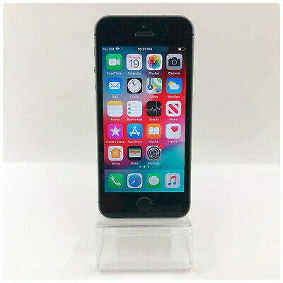 Apple iPhone 5s - 16GB - Space Gray GSM Unlocked Good Condition!