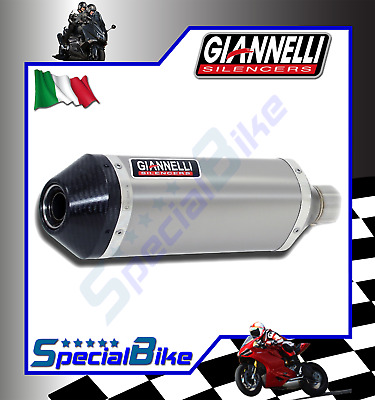 Exhaust Giannelli Ipersport Ducati Hyperstrada 2013 > 2015 Titanium Carby