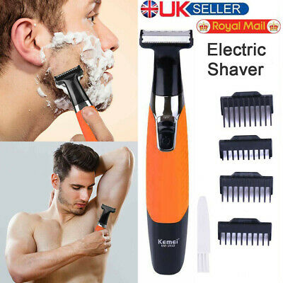 Rechargeable Hair Clipper Electric Mens Cordless Body Hair Trimmer Beard Shaver