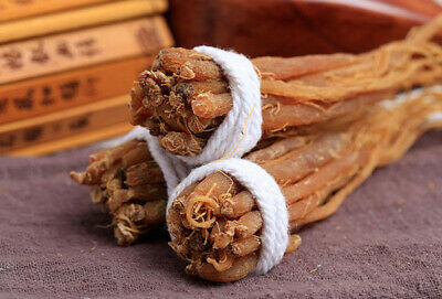 100%Premium Organic Red Korean Ginseng Roots Whole Root Pieces Red Free Shipping