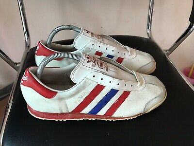 Adidas Vienna UK 8 Made In The Philippines 1996 Vintage City Series