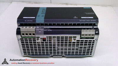 Siemens 6Ep1437-3Ba00 Ac/Dc Din Rail Power Supply, Sitop, Fixed, New* #273079