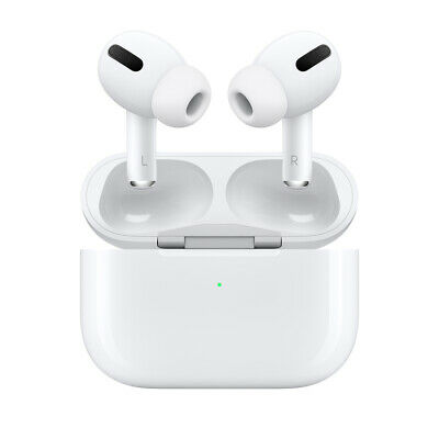 NEW! Apple AirPods Pro In-Ear w/Noise Cancellation & Wireless Charging Case, WHT