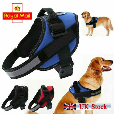 Non Pull Dog Harness Outdoor Adventure Pet Vest Padded Handle Small Medium Large