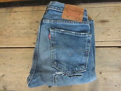 BNWOTS RECENT LEVIS 510 JEANS (31x34-LONG) SKINNY STRETCH DISTRESSED FADED 511 -