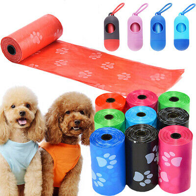 Doggy Bags Bone Shape Pet Dog Waste Poop Garbage Bag Dispenser Clean-up Holder