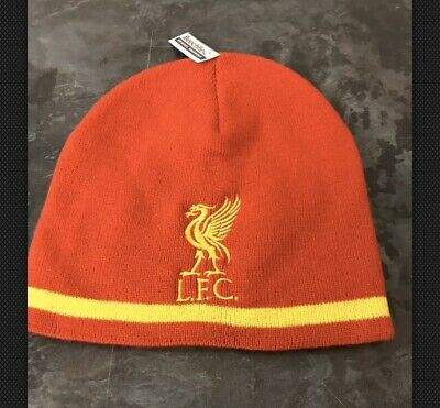 liverpool fc Red Adult Beanie Embroidered Beanie Hats