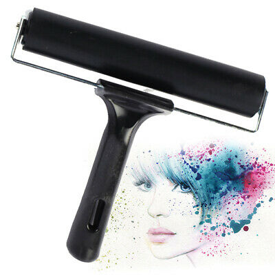 Ink Applicator Oil Painting Tool Roller Brush Paint Art Craft Rubber Brayer DIY