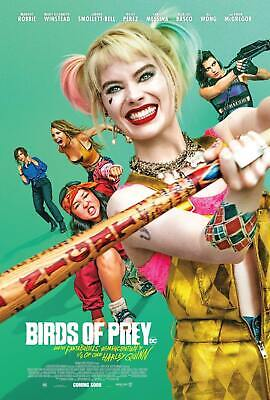 Birds of Prey Movie 2020 Harley Quinn Poster 40 24x36 Fabric 5143