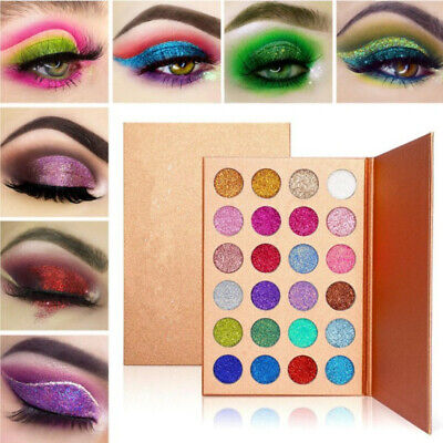 24 Colors Eyeshadow Pallete Diamond Glitter Powder Matte Eye Shadow Palette