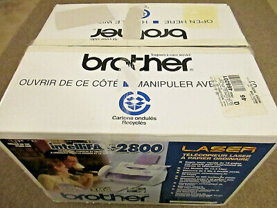 New Brother IntelliFAX 2800 FAX/Phone/Copier