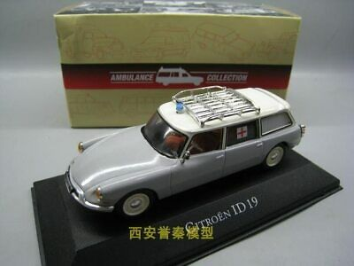 ATLAS 1/43 Scale France CITROEN ID19 Ambulance Diecast Metal Car Model Toy For