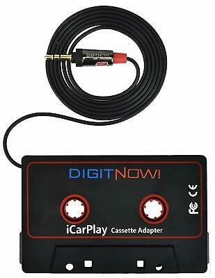 3.5mm Car Audio Cassette Adapter for Smartphone/MP3 Player/CD Player