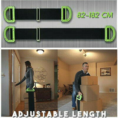 Adjustable The Landle Moving And Lifting Straps for Furniture Boxes Mattress Str