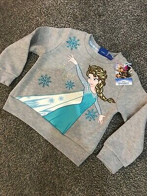 Girls DISNEY FROZEN JUMPER age - years 2-3 years Primark Official Licensed
