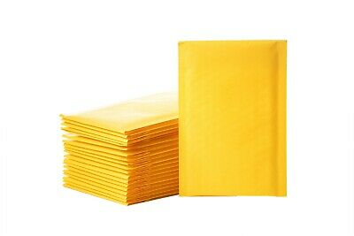 500 4x8 #000 Kraft Bubble Mailers Padded Envelopes Shipping Bags Mailing