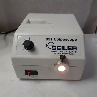 Seiler 931 Colposcope Light Source Very Good Condition Clean Cosmetic