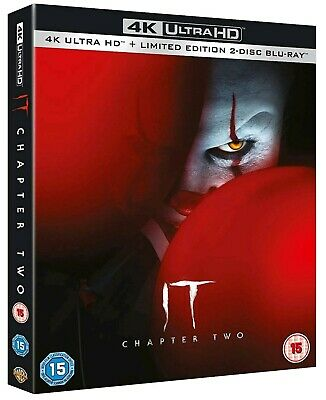 It: Chapter 2 (Bluray 4K) Includes 2D