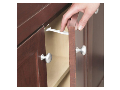 Safety Lock Child Cabinet 1st Latches Door Drawer Grip Baby Kids Stop 14 Pack