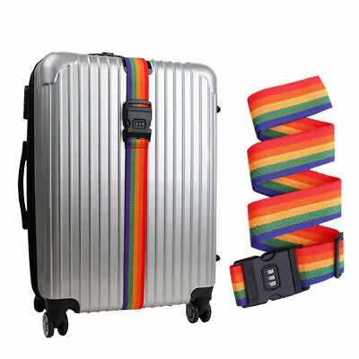 Travel Password Luggage Strap Cross Belt Packing Suitcase Aggage Safe Belt Acces