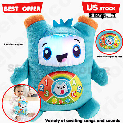 Educational Toys For 6 Months 1 2 3 year Old Boy Girl Toddler Glow Groove Rockit