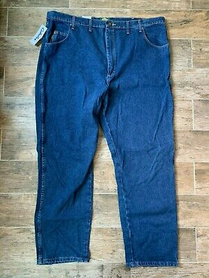 Cabela's 46x32 Dark Stone Relaxed Fit Roughneck Denim Jeans NWT NEW Big & Tall