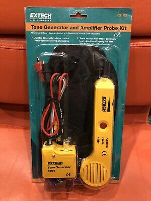 Brand New Extech Tone Generator And Amplifier Probe Kit 40180 Sealed Freepost