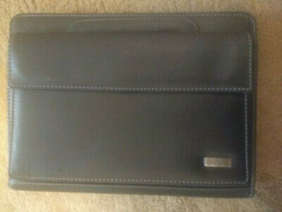 Day One by Franklin Covey Faux Leather 7-ring ClassicFolder Organizer W/ Handles