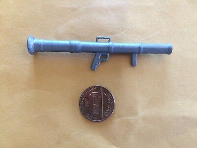 Sgt Rock /& The Bad Guys BAZOOKA gun launcher Vtg weapon 1982 accessory
