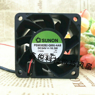 1pc SUNON PMD2404PBB2-A Cooling fan DC24V 6.0W 2wire 40mm #XX