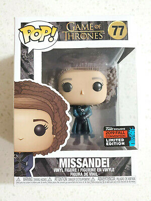 Funko Pop! Game of Thrones #77 Missandei 2019 NYCC Exclusive w/ Pop Protector