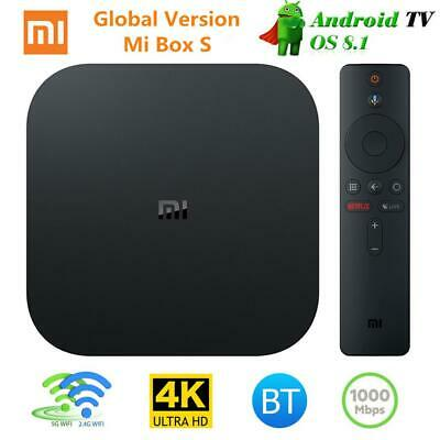 Xiaomi MI BOX S Android 8.1 Smart 4K Mi TV Boxes HDR Google Casts World Version#