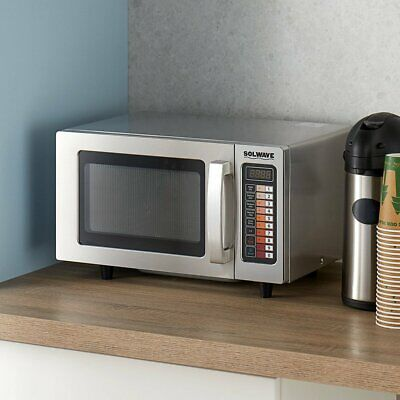 Commercial Programmable 120V 1000W Durable Stainless Steel Microwave Oven