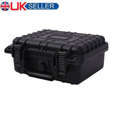 Protective Equipment Hard Carry Case Plastic Box with 3 Removable Foam Black New