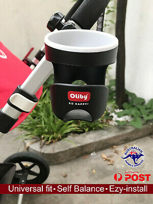 OLiby Pram/Stroller cup holder universal fit drink bottle water