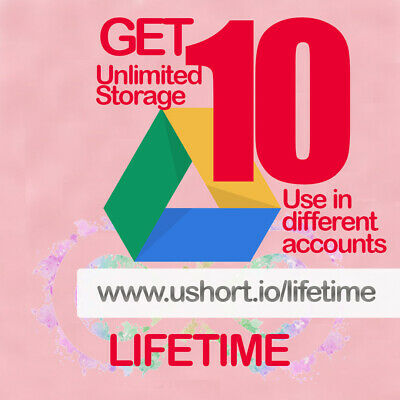 10 UNLIMITED GOOGLE Team DRIVE FOR YOUR EXISTING ACC Lot of 10 drive very fast